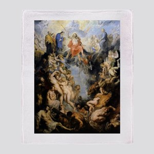 The Last Judgement Throw Blanket